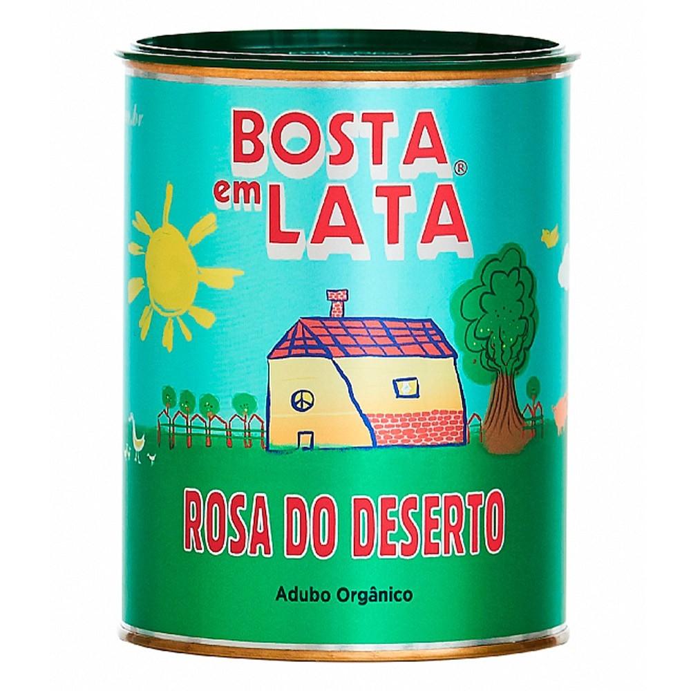 FERT. ORG. BOSTA EM LATA ROSA DO DESERTO 500G