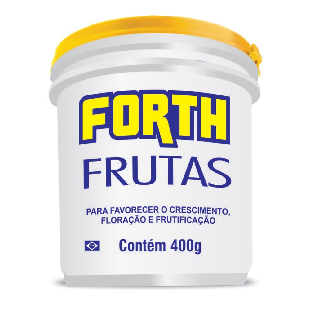 FORTH Fertilizante Frutas 400G