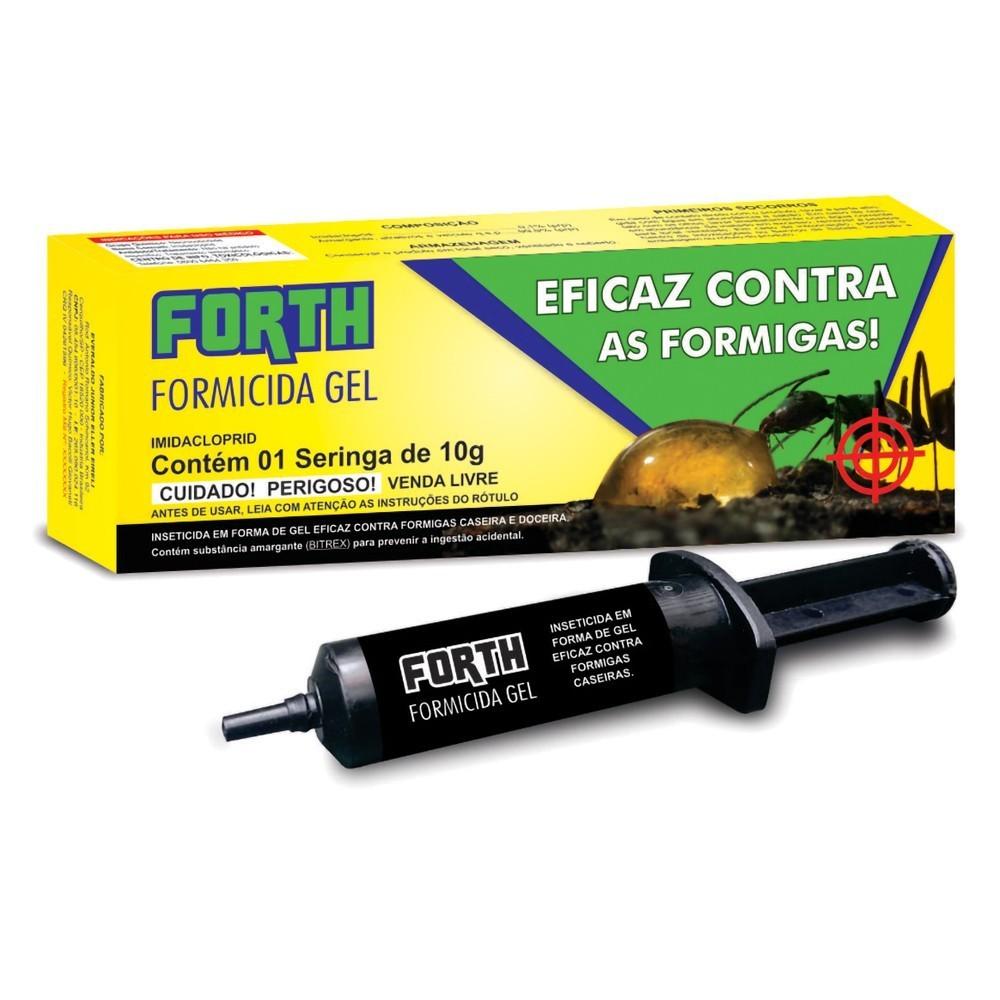 FORTH Formicida em Gel 10 G  Pronto para Uso