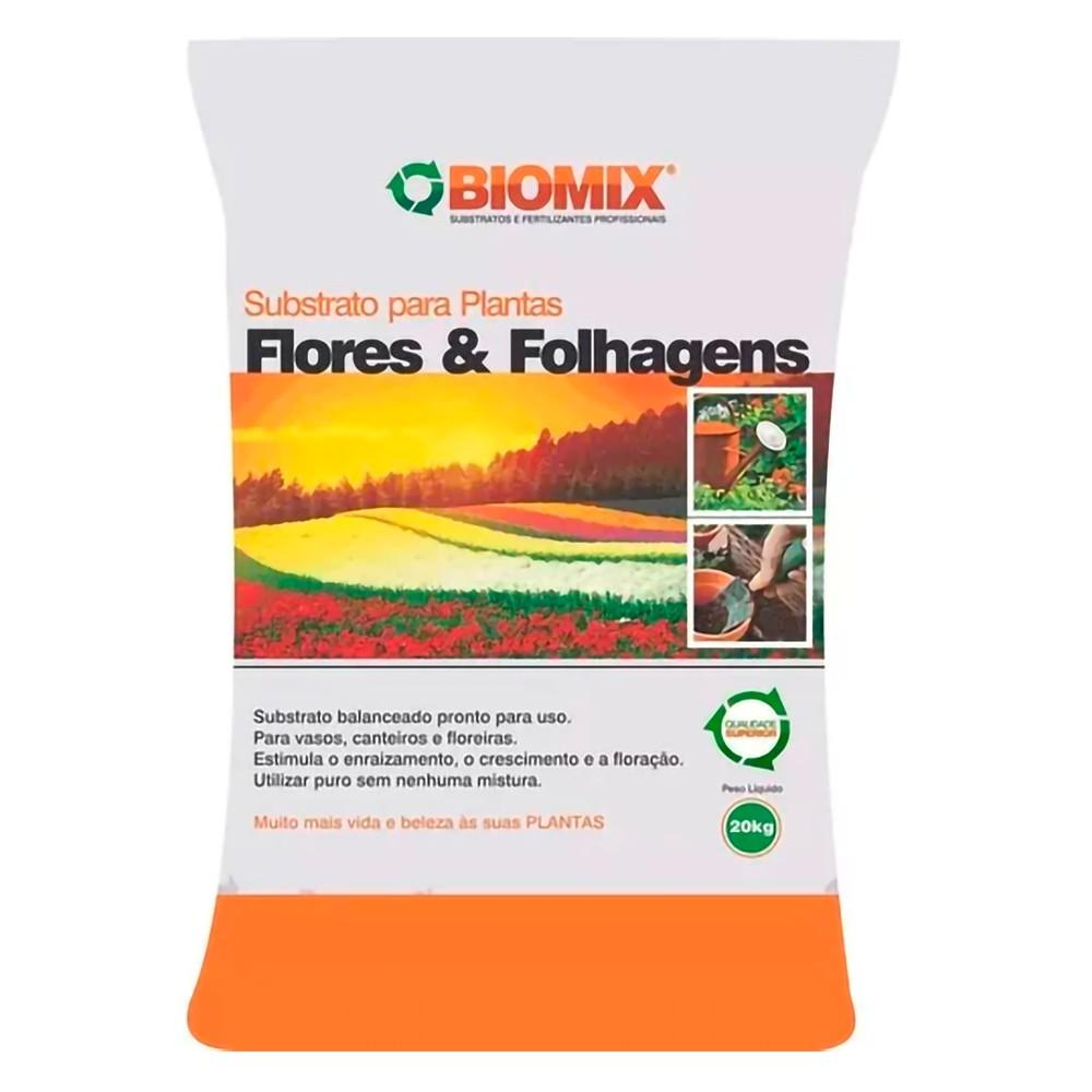 Substrato Flores e folhagens Biomax 20kg