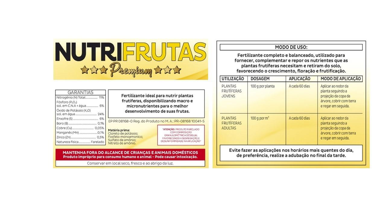 VITAPLAN Fertilizante Mineral Misto NutriFrutas Premium 500g