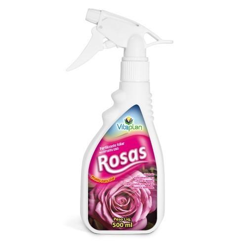 VITAPLAN Fertilizante Pronto Para Uso Foliar Rosas 500 ML