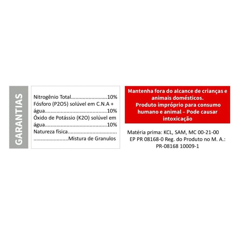 VITAPLAN Fertilizante Mineral Misto 10-10-10  1Kg