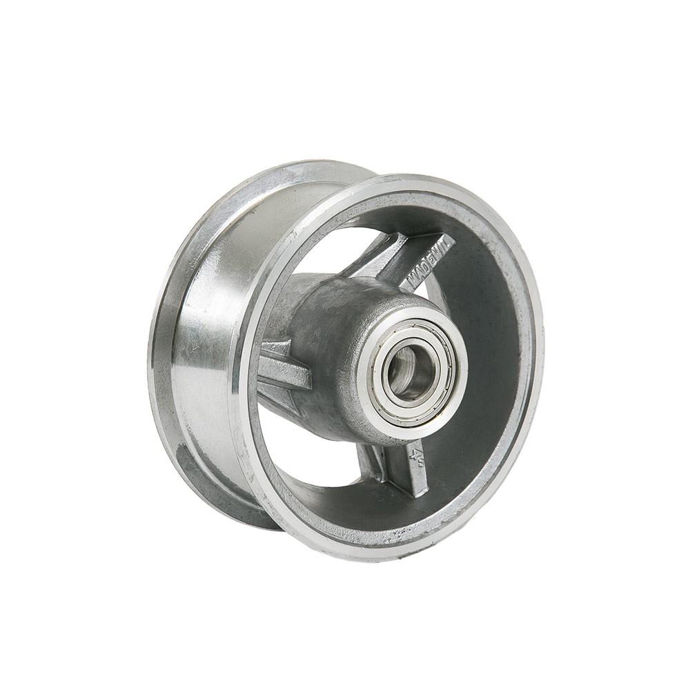 Aro de alumínio 4 polegadas com rolamento 6201z Mademil