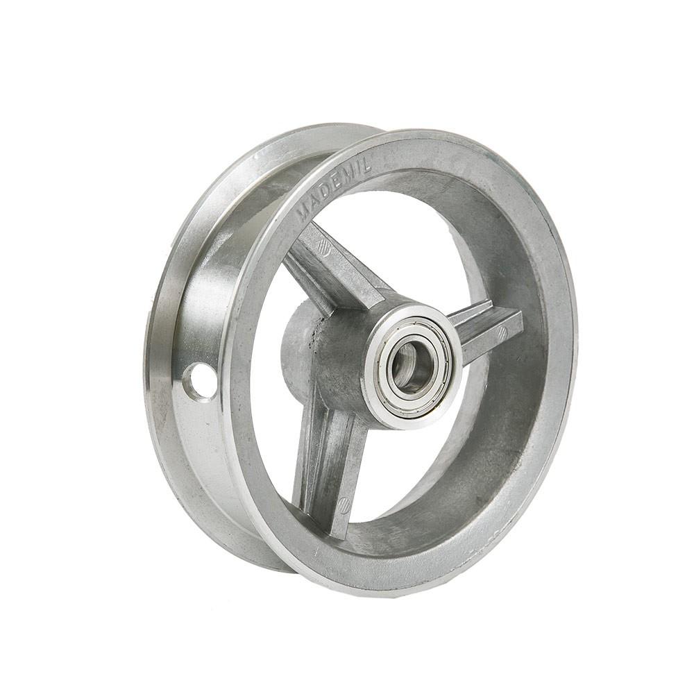 Aro de alumínio 6 polegadas com rolamento 6003z Mademil