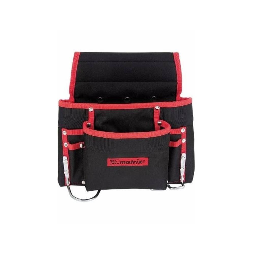 Bolsa de cinto para ferramentas com 8 bolsos e suporte para martelo Mtx