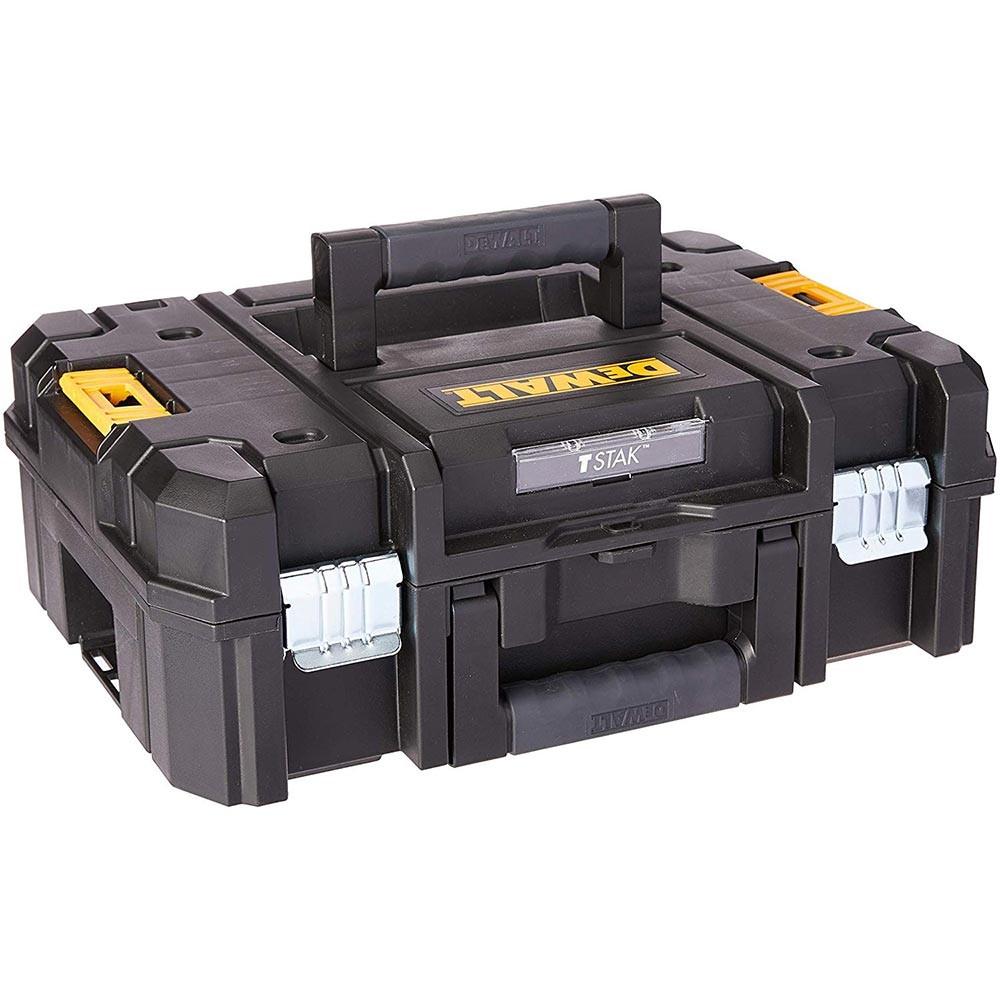 Caixa maleta organizadora tstak dwst17807 dewalt