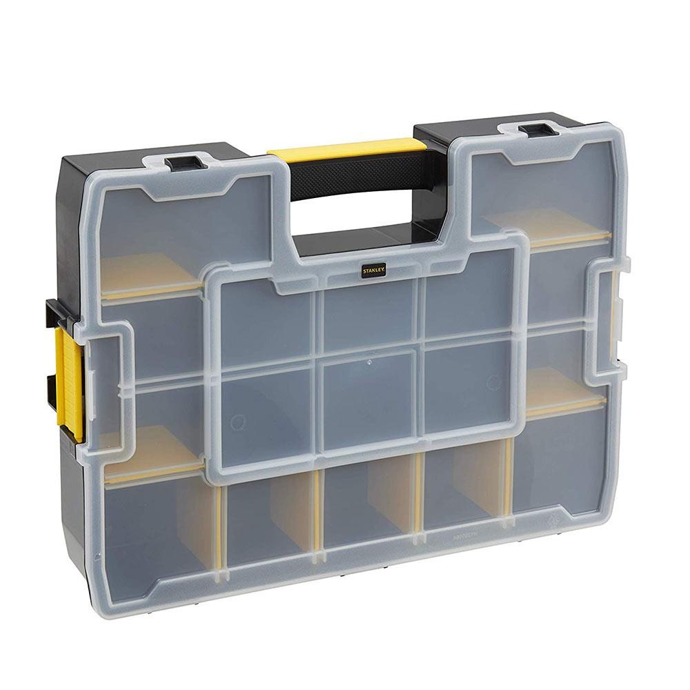 Caixa organizadora plasticas softmaster jr stst14022 stanley
