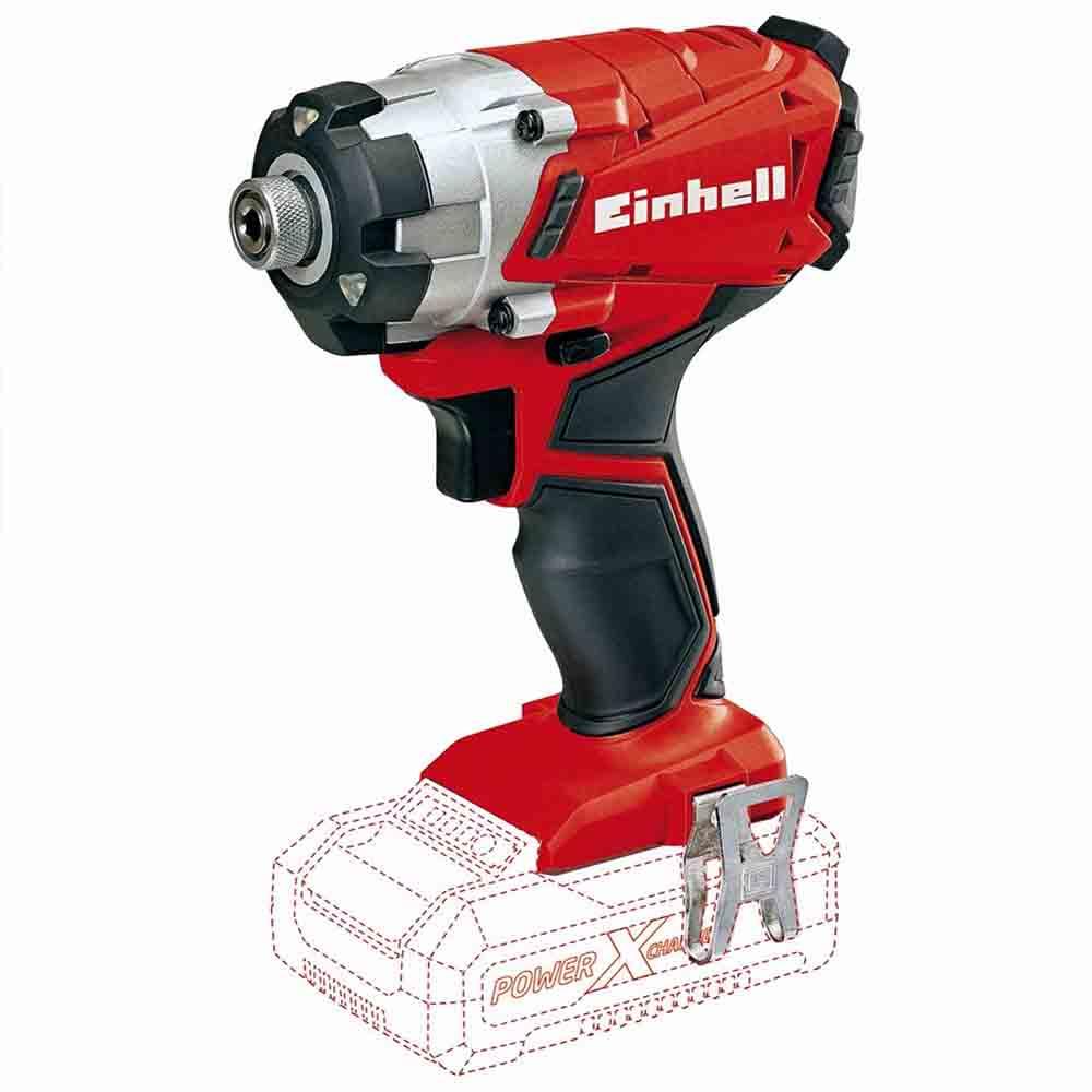Chave de impacto e parafusadeira a bateria te-ci 18/1 li s/bateria Einhell