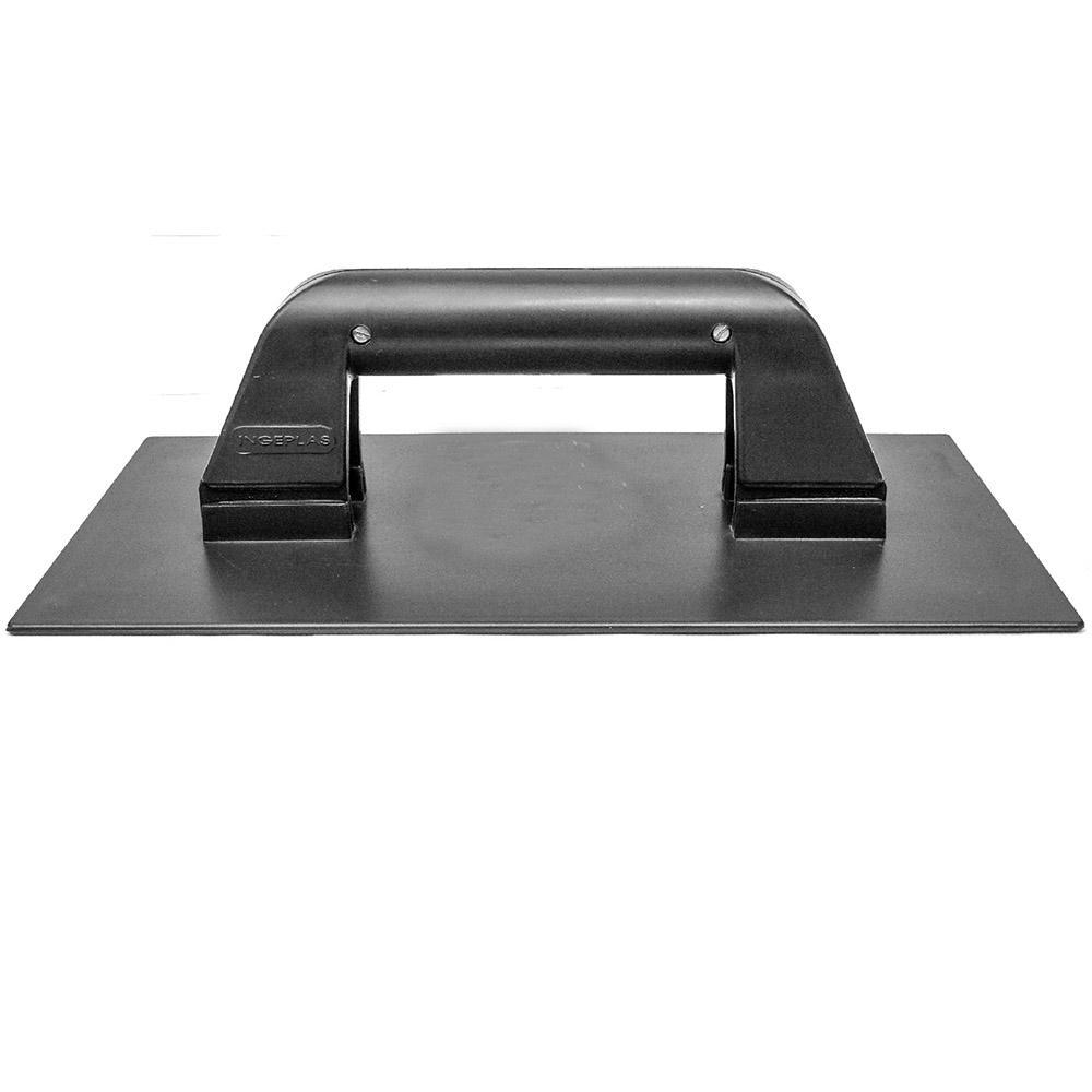 Desempenadeira plastica com borracha 14 x 27 cm Ingeplas