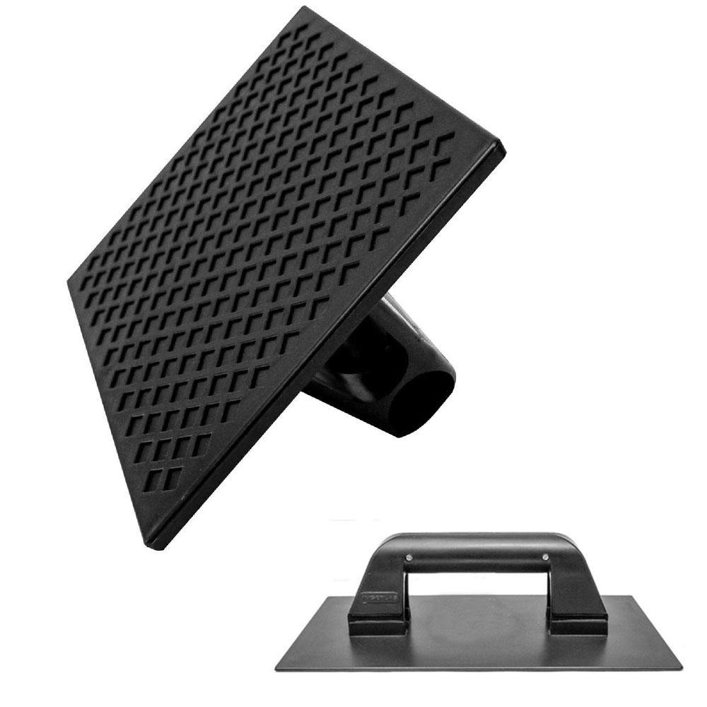 Desempenadeira plastica estriada 8,5 x 16,5 cm Ingeplas
