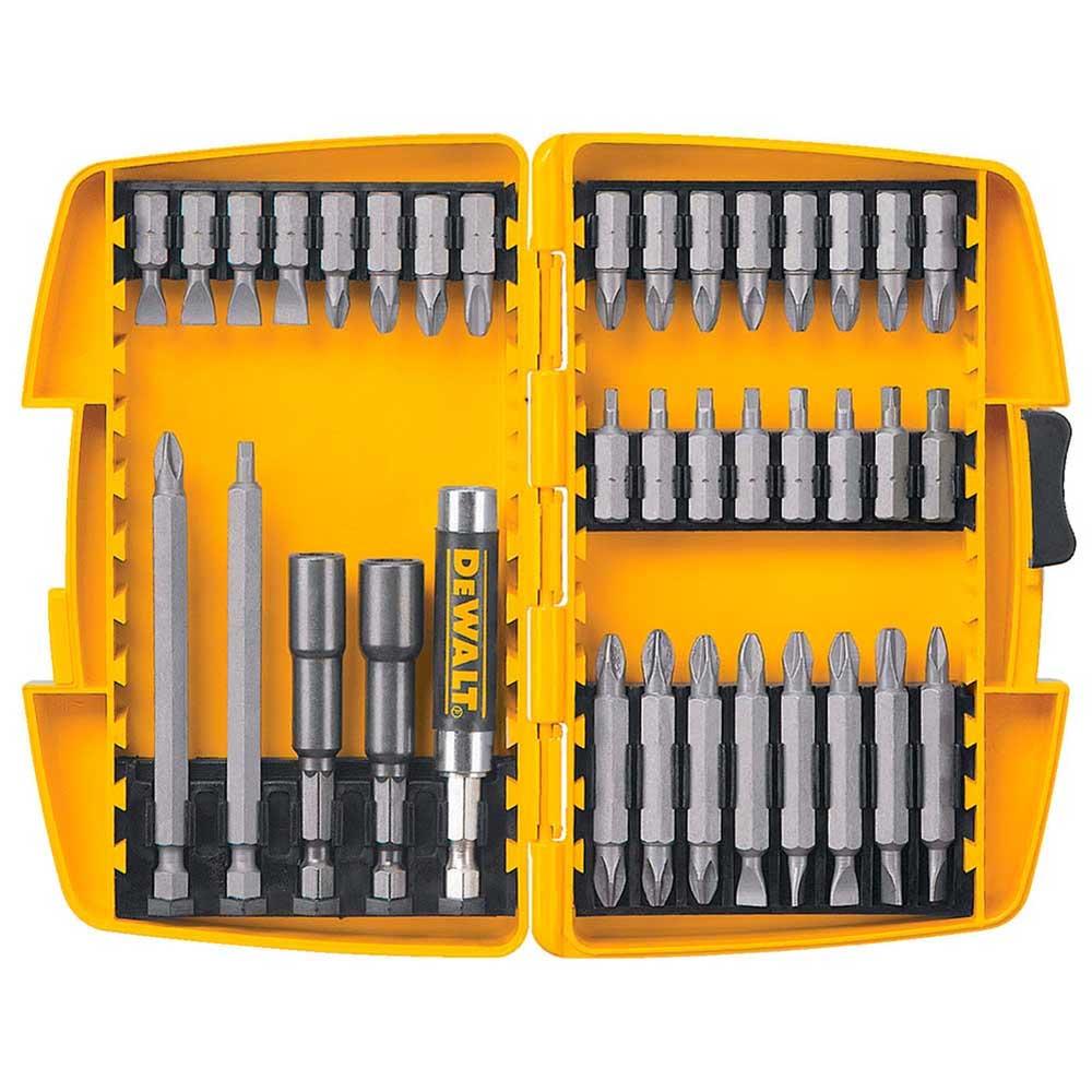Jogo de bits 37 peças para parafusadeira dw2163 dewalt