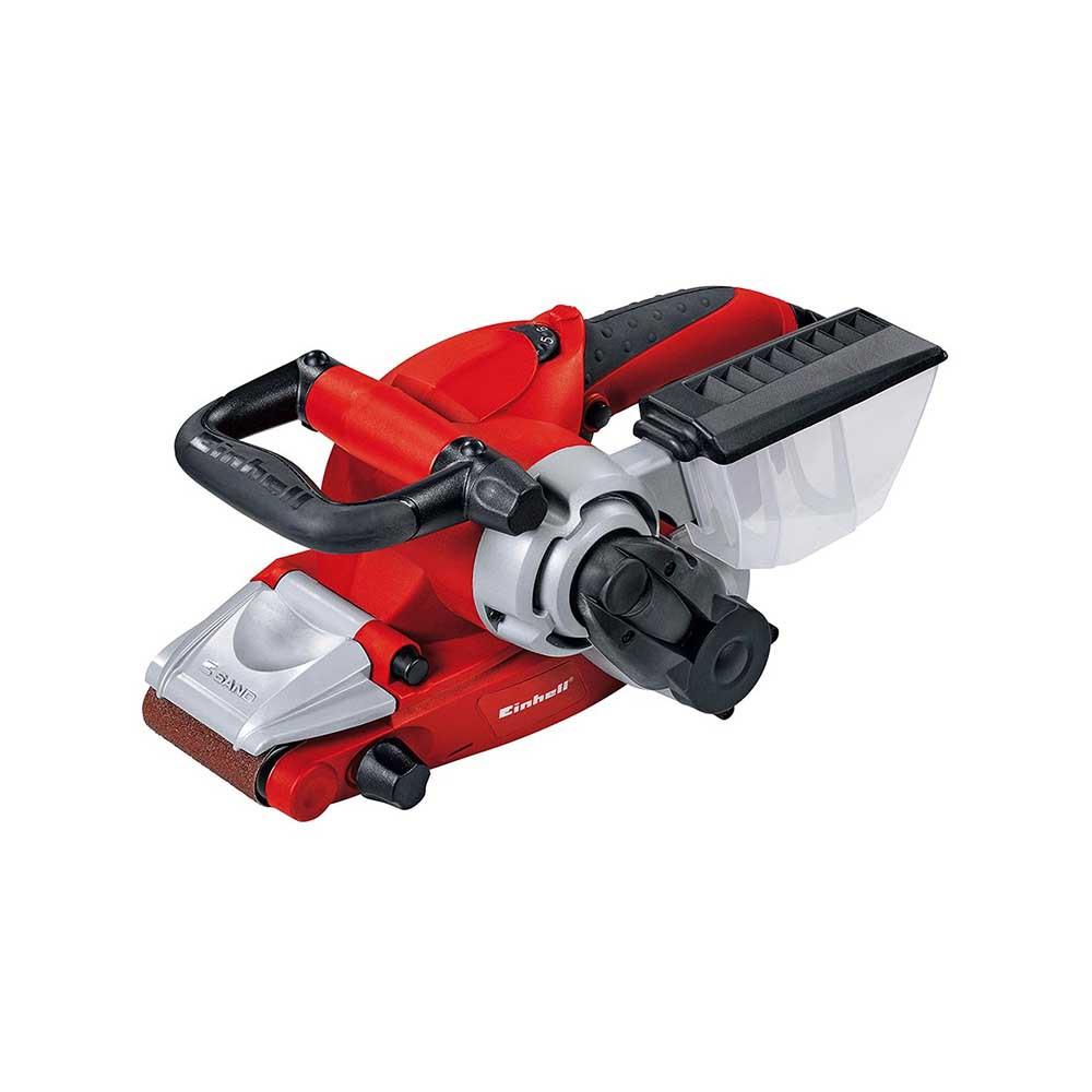 Lixadeira de cinta 850 w rt-bs 75 einhell. Profissional com velocidade eletricanica variável