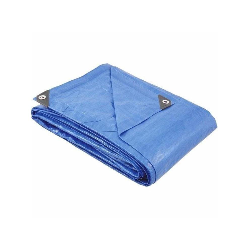 Lona encerado polietileno 4x4 m azul usinna
