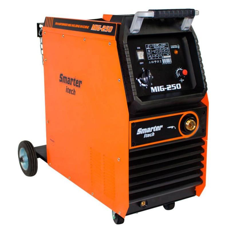 Maquina de solda mig/mag 250 amp mg250 smarter-220v
