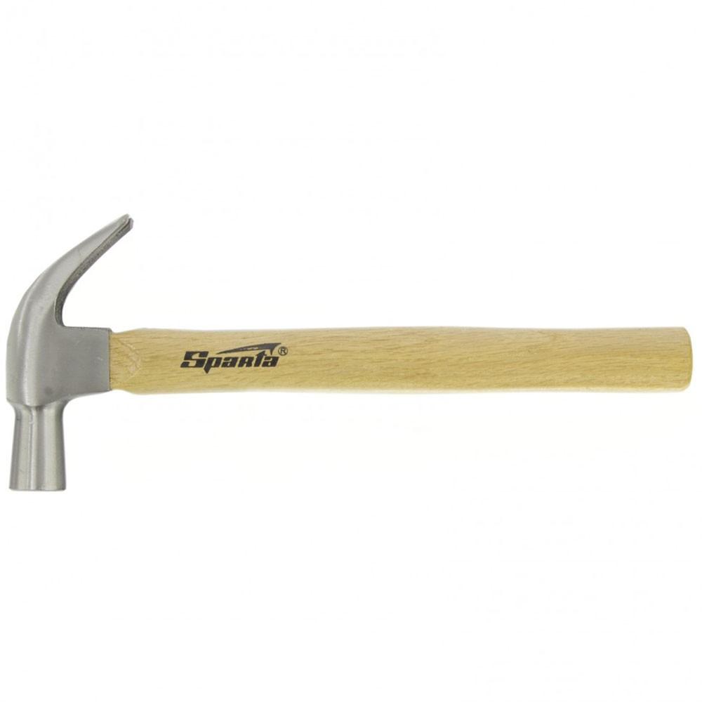 Martelo unha 27 mm profissional com cabo em madeira Sparta