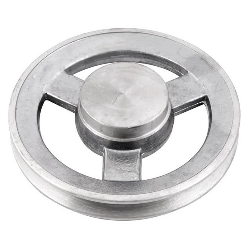 Polia de alumínio industrial canal A1-170 mm mademil