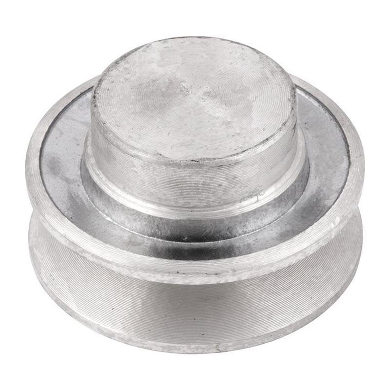 Polia de alumínio industrial canal A1-60 mm mademil
