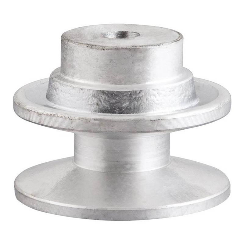 Polia de alumínio industrial canal B1-60 mm mademil