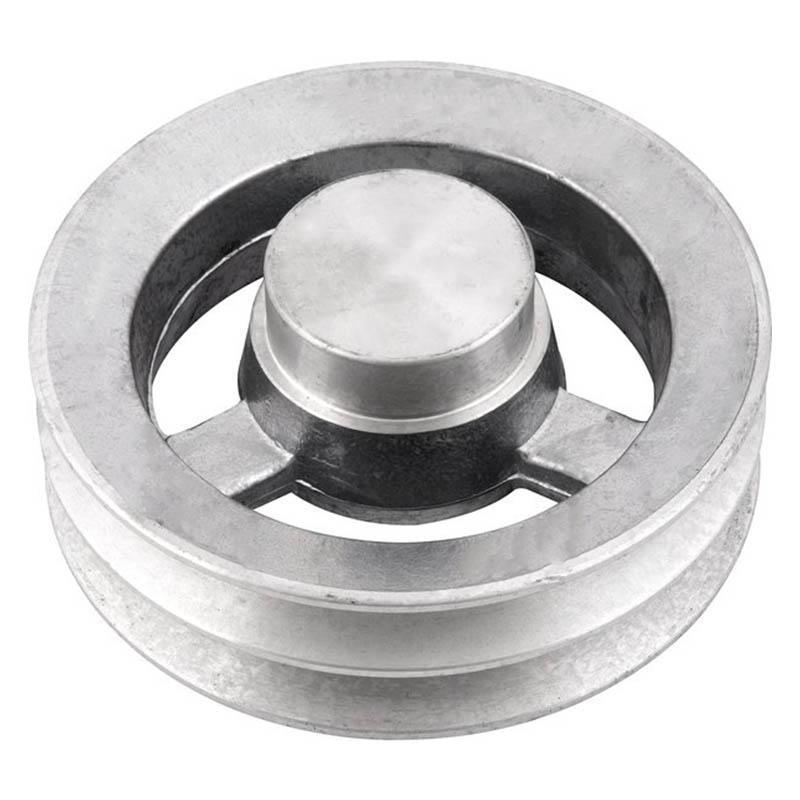Polia de alumínio industrial canal B2-150 mm mademil
