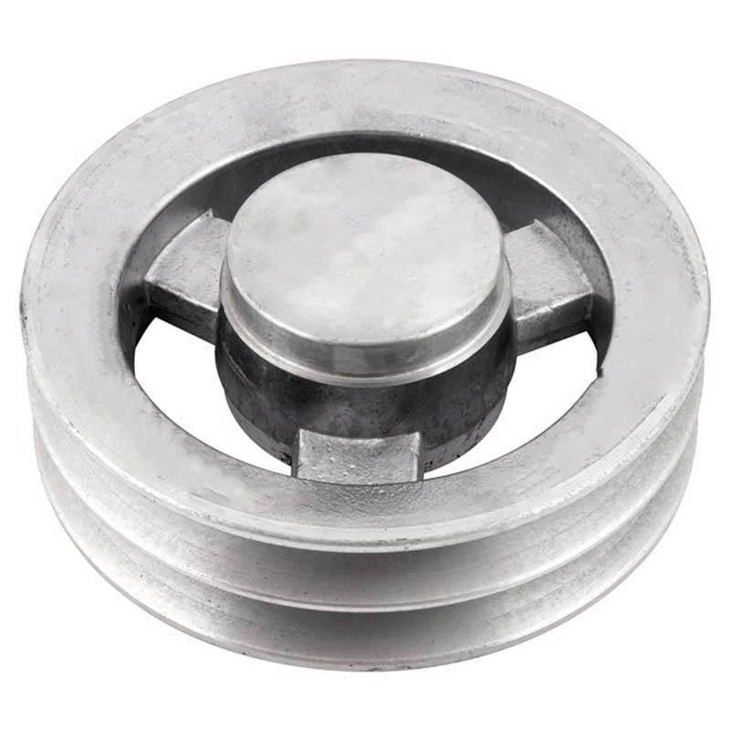 Polia de alumínio industrial canal B2-160 mm mademil