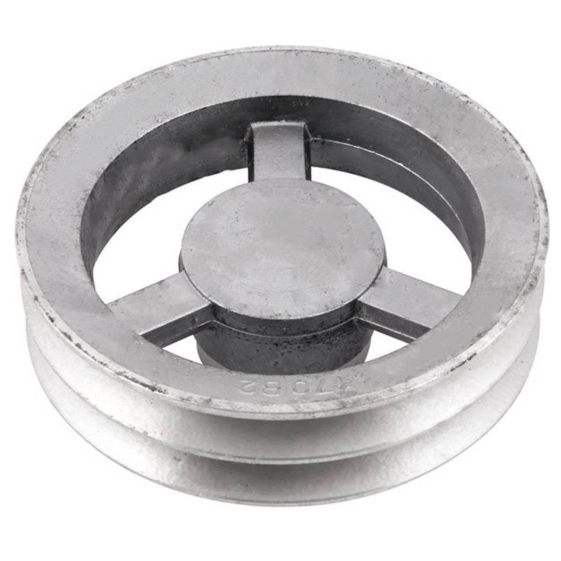 Polia de alumínio industrial canal B2-170 mm mademil