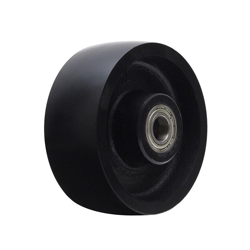 Roda de ferro cinzento r52 com rolamento 6003 mademil