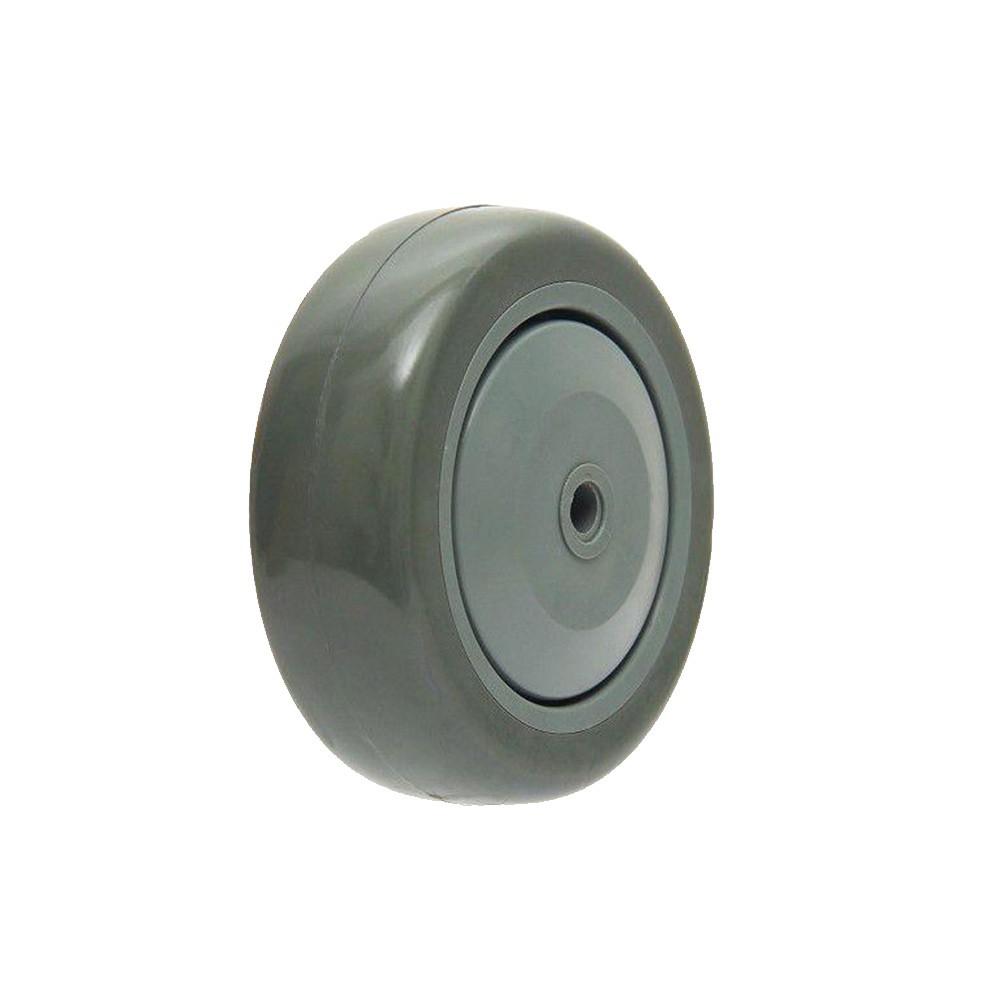 Roda termosplastica 412 bpe 4 polegadas rolamentada ajax