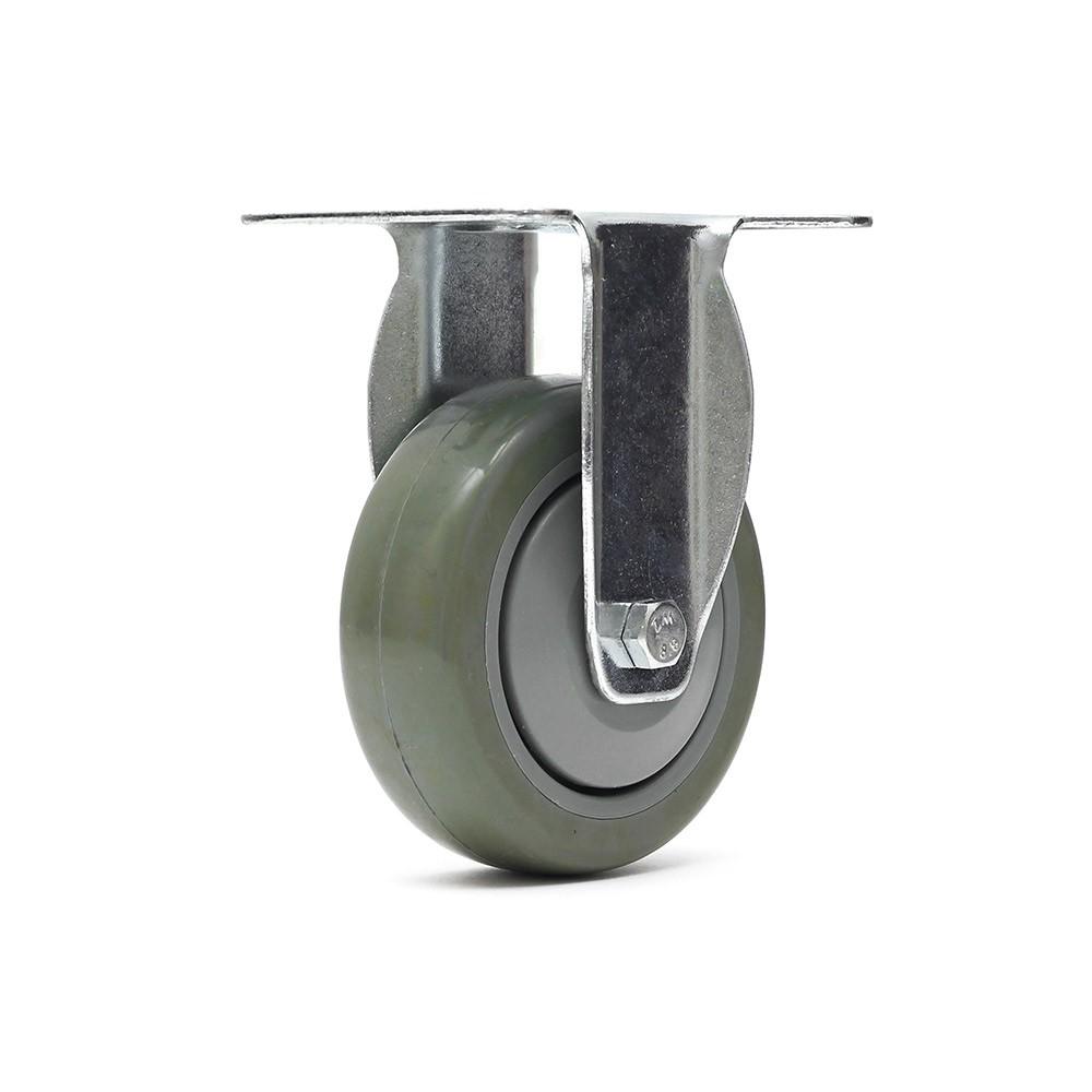 Rodizio fixo fl412bpe roda termoplastica ajax