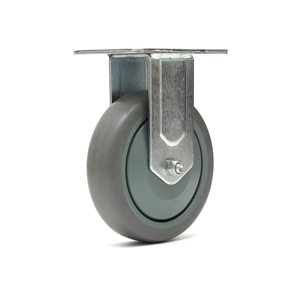 Rodizio fixo fl512bpe roda termoplastica ajax
