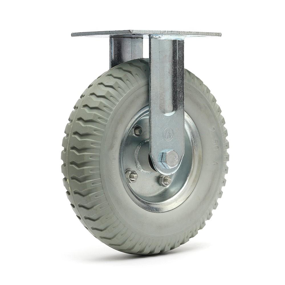 Rodizio fixo roda 2.50-4 maciça 100 kg ajax