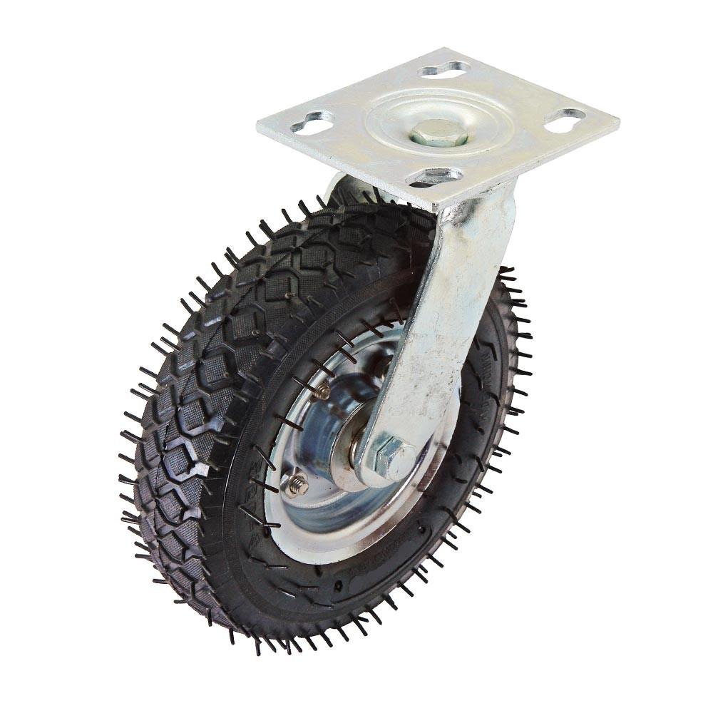 Rodizio pneumatico giratorio 2.50-4 pneu 4 lonas e camara