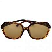 Óculos de Sol Feminino Lentes Polarizadas Bolonha - Tartaruga