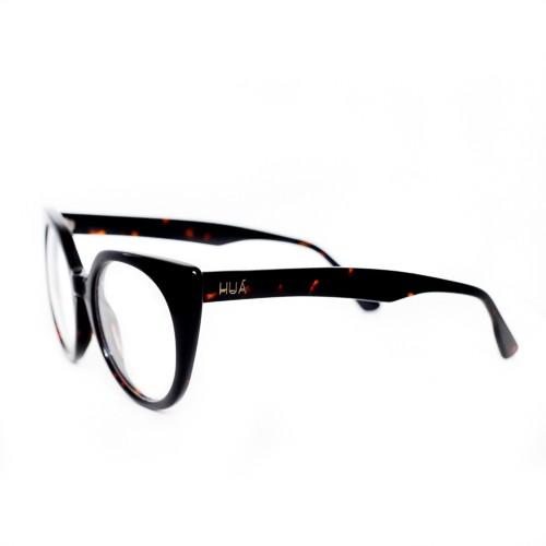 Armação de Óculos de Grau Feminino Preta