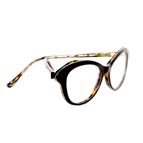 Armação para Óculos de Grau Feminino Tartaruga e Cinza