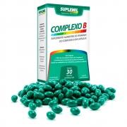 Complexo B  Suplemento Alimentar de Vitaminas do Complexo B c/30