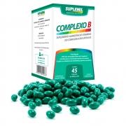 Complexo B  Suplemento Alimentar de Vitaminas do Complexo B c/45