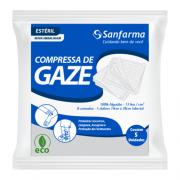 Compressa de Gaze Estéril 13 fios Sanfarma Eco