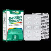 Magnésio Dimalato - Suplemento Alimentar de Magnésio Dimalato c/30