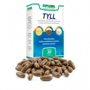 TYLL - Suplemento Alimentar de Psyllium, Chia e Cromo c/30