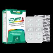 Vitamina E - Suplemento Alimentar de Vitamina E c/30