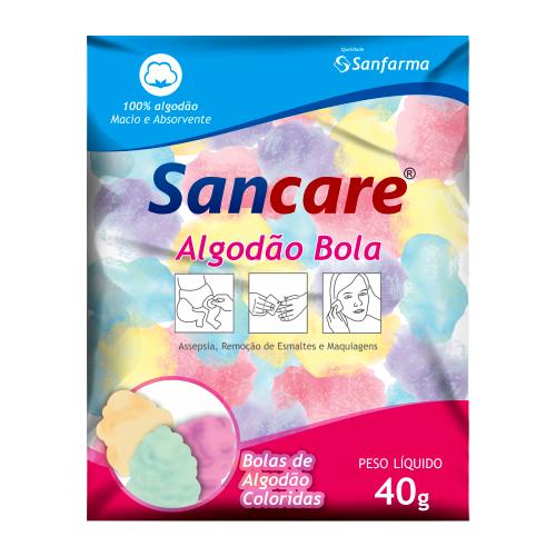 Algodão Colorido 40g Sancare