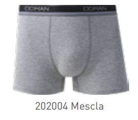 161J1-004 CUECA BOXER MESCLA (M)