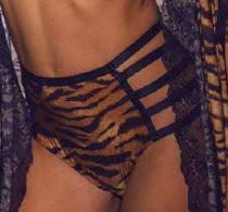 4438 CALCINHA HOT PANT BATOM TIGRE (42)