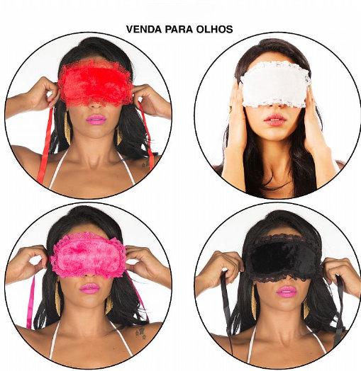 4684 VENDA DE RENDA DE AMARRAR P/OLHOS PR