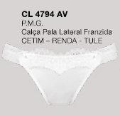 4794 CALCINHA LATERAL FRANZIDA SUBLIME BR (M)