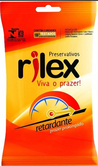 5505 PRESERVATIVO EFEITO RETARDANTE RILEX C/3 UNID