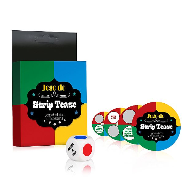 LD020 JOGO DE STRIP TEASE -DADOS E RASPADINHA