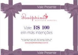 VALE-PRESENTE R$ 100,00 EM MAS-INTENCOES