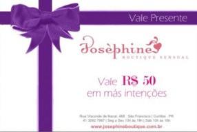 VALE-PRESENTE R$ 50,00 EM MAS-INTENCOES